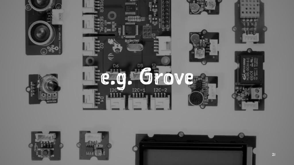 e.g. Grove 21