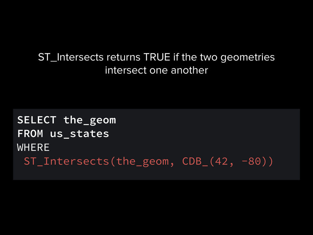 SELECT the_geom FROM us_states WHERE ST_Interse...