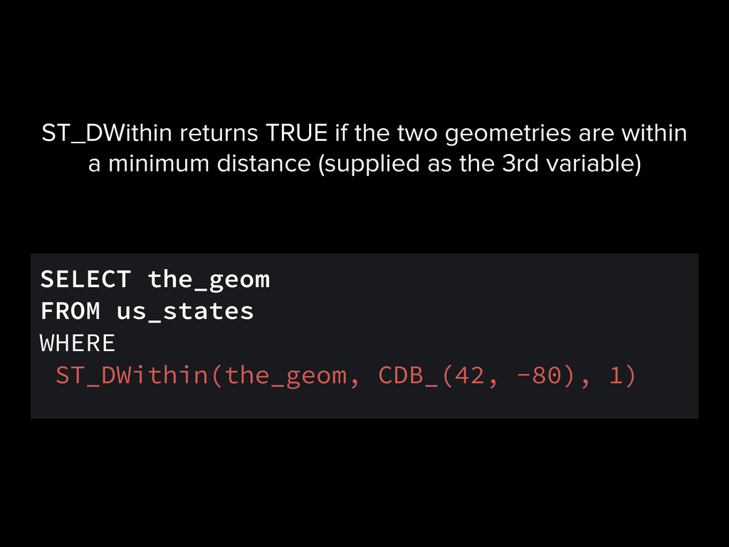 SELECT the_geom FROM us_states WHERE ST_DWithin...