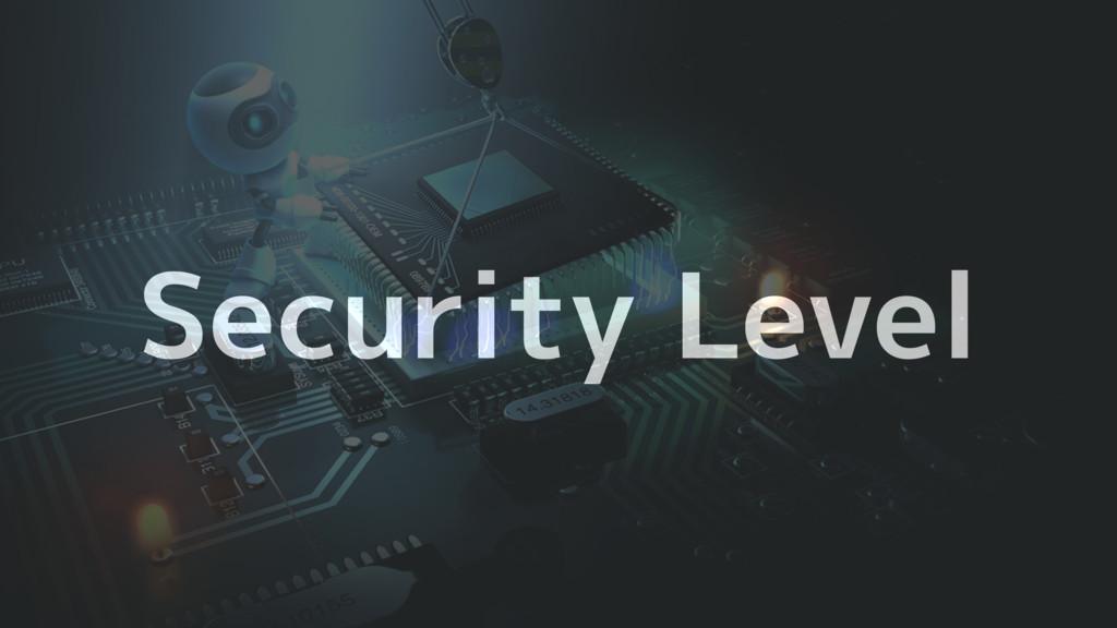 Security Level