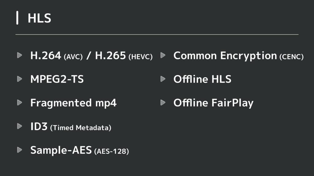 H.264 (AVC) / H.265 (HEVC) MPEG2-TS Fragmented ...