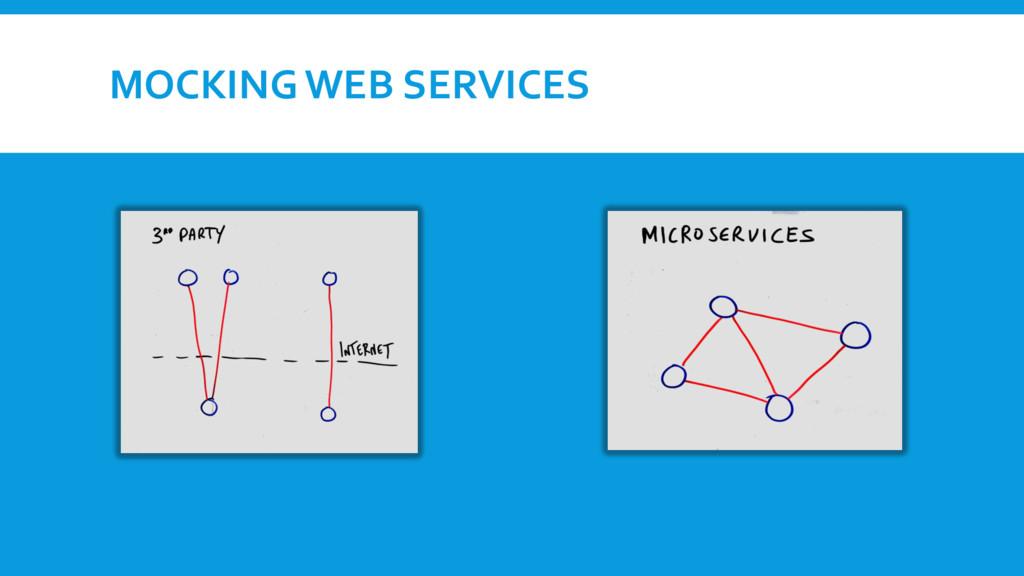 MOCKING WEB SERVICES