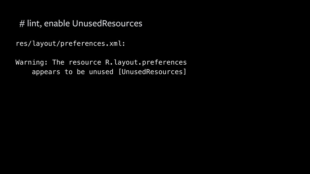 res/layout/preferences.xml: Warning: The resour...
