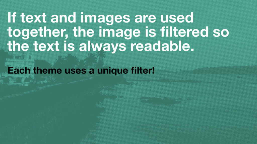 If text and images are used together, the image...
