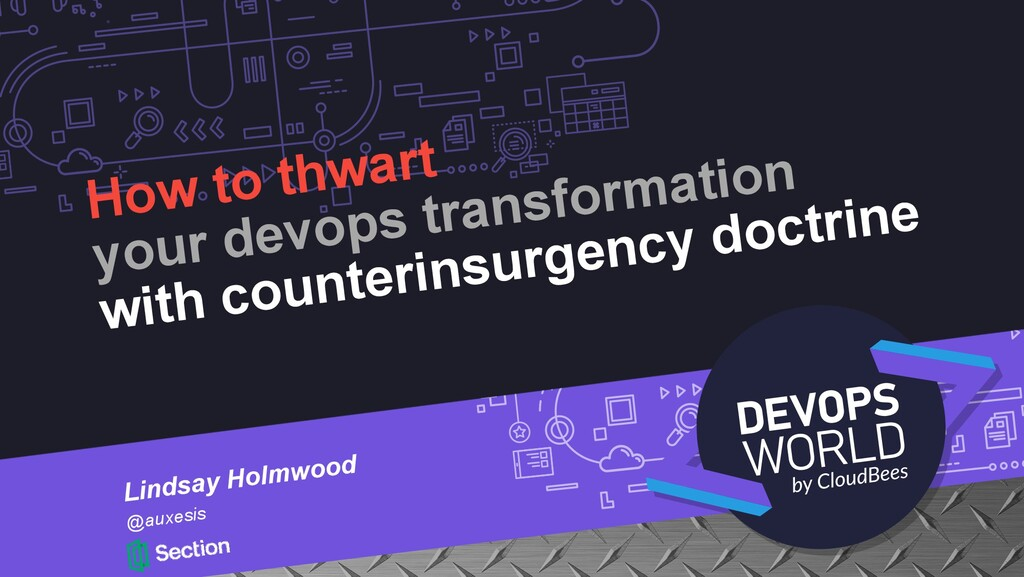 How to thwart your devops transformation with c...