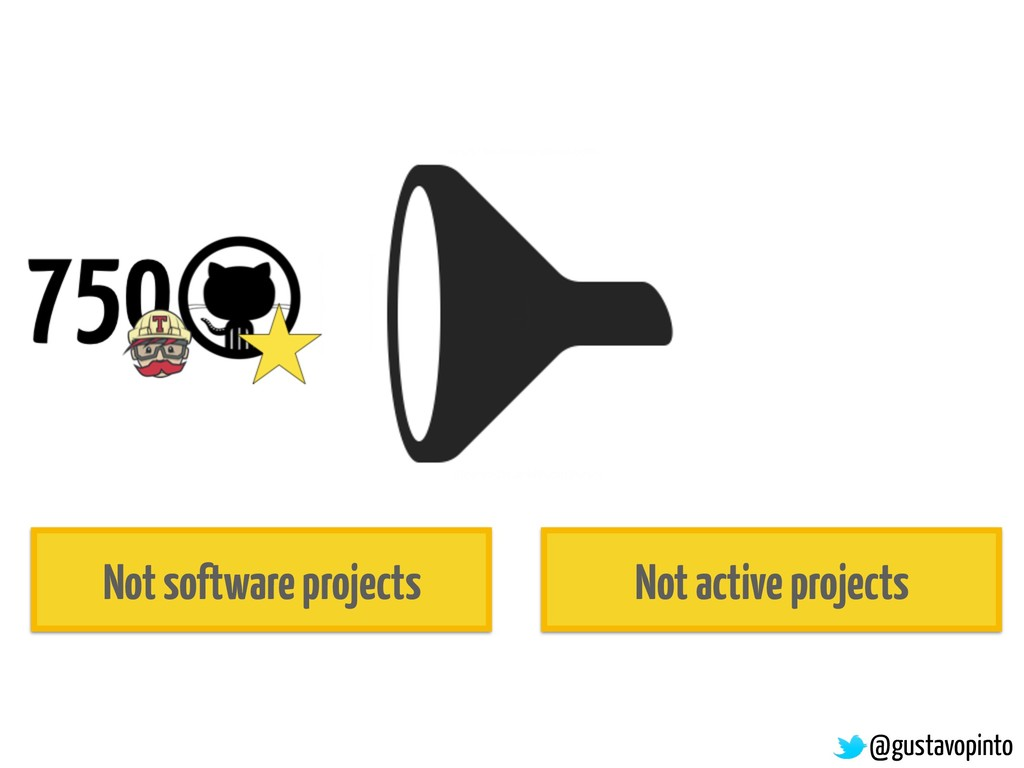 @gustavopinto Not software projects Not active ...