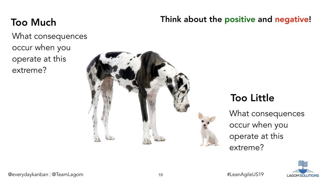 @everydaykanban | @TeamLagom Too Little Too Muc...