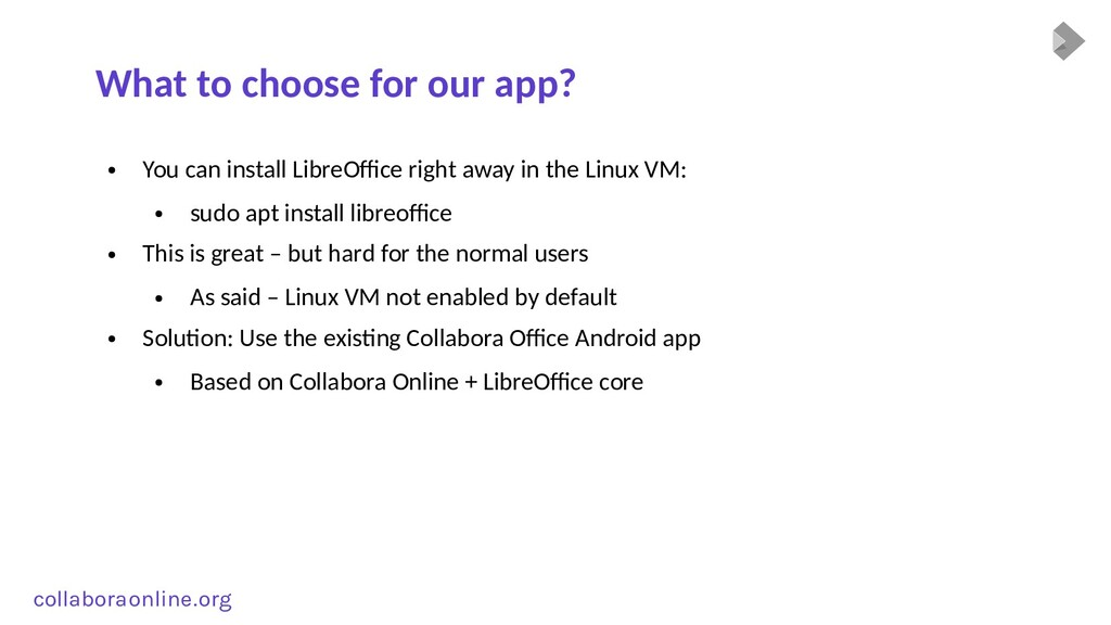 Col collabora online . org What to choose for o...