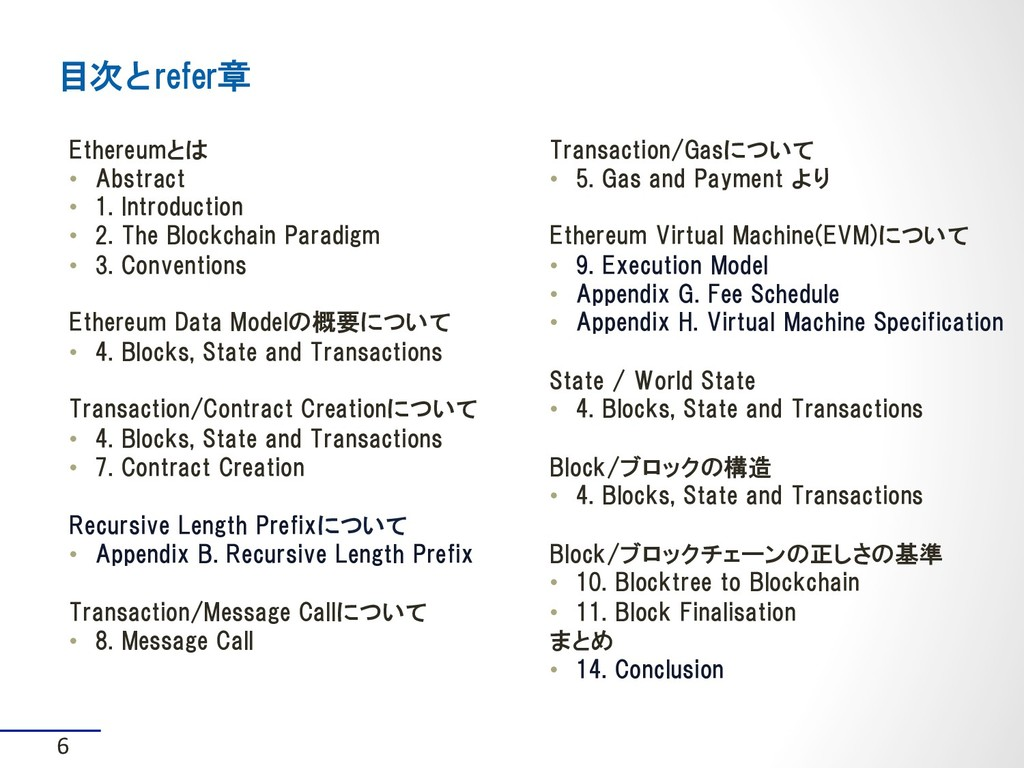 Ethereumとは • Abstract • 1. Introduction • 2....