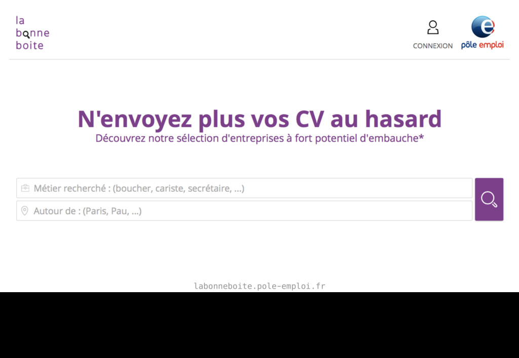 labonneboite.pole-emploi.fr For example, this S...