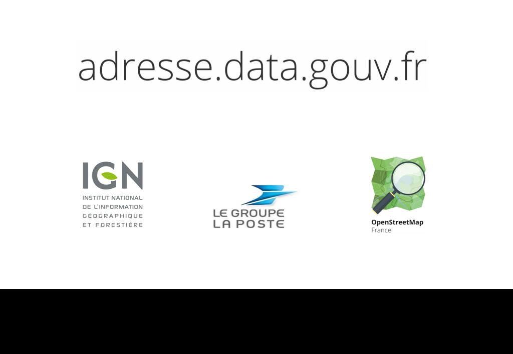 adresse.data.gouv.fr One dataset, two licenses ...