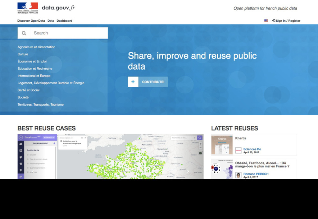 In our context, providing an open data portal i...
