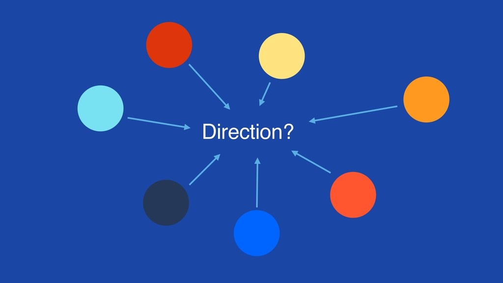 Direction?