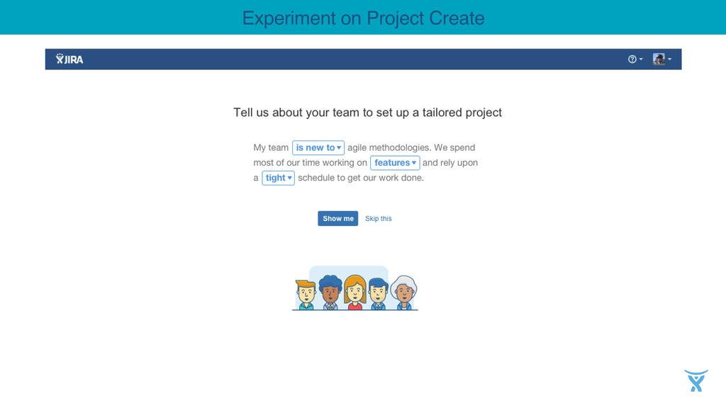 Experiment on Project Create