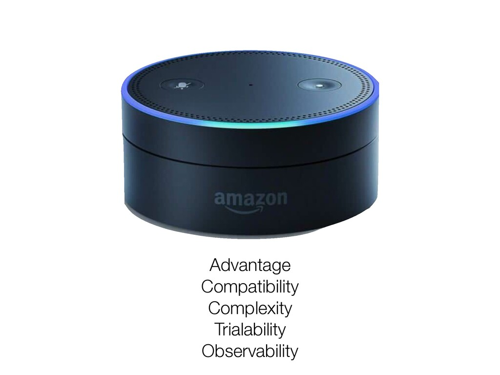 Advantage Compatibility Complexity Trialability...