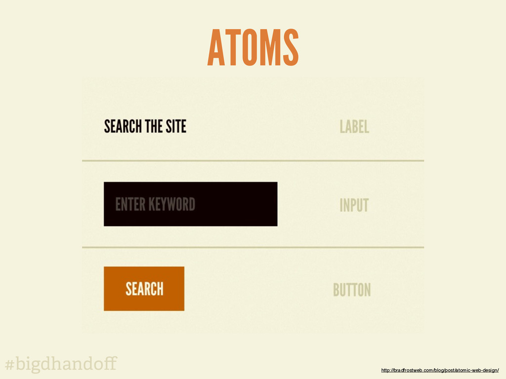 #bigdhandoff ATOMS http://bradfrostweb.com/blog/...