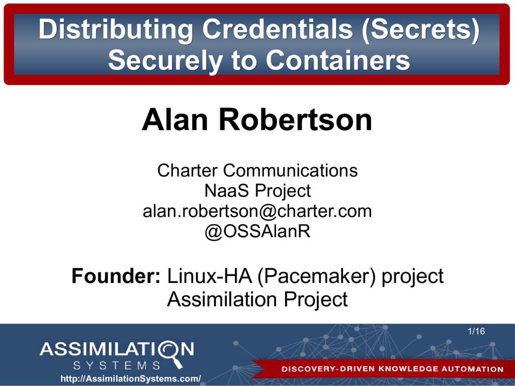 http://AssimilationSystems.com/ 1/16 Distributi...