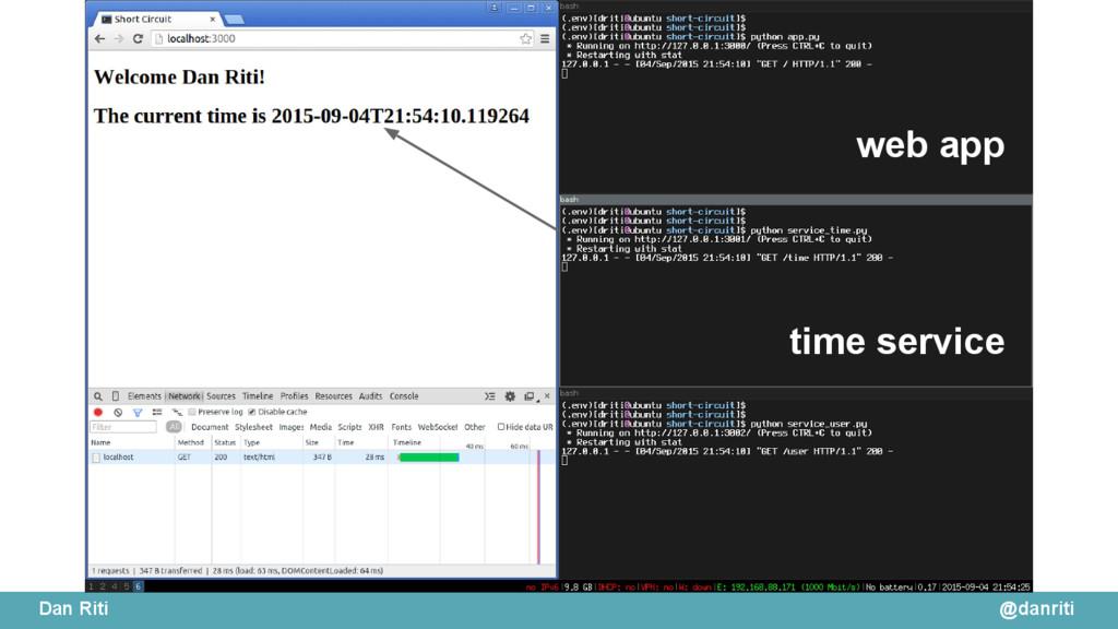 @danriti Dan Riti web app time service
