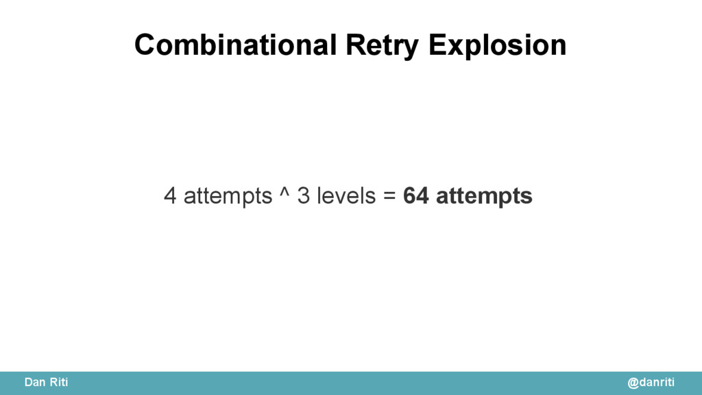@danriti Dan Riti Combinational Retry Explosion...
