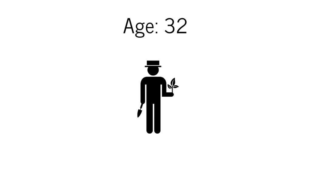 Age: 32