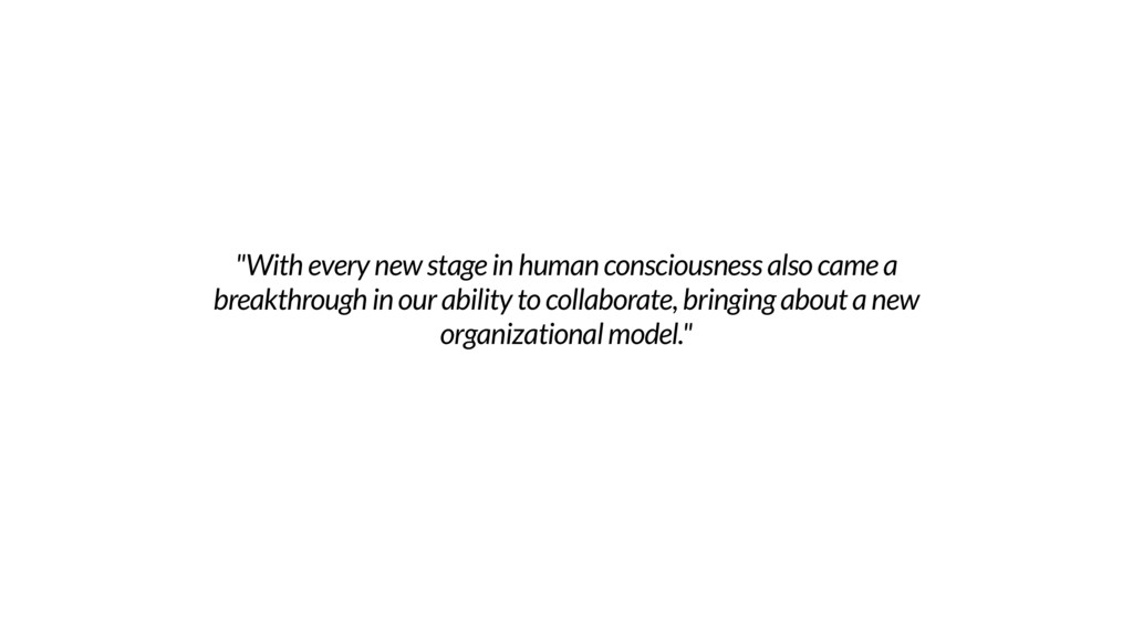 """With every new stage in human consciousness al..."