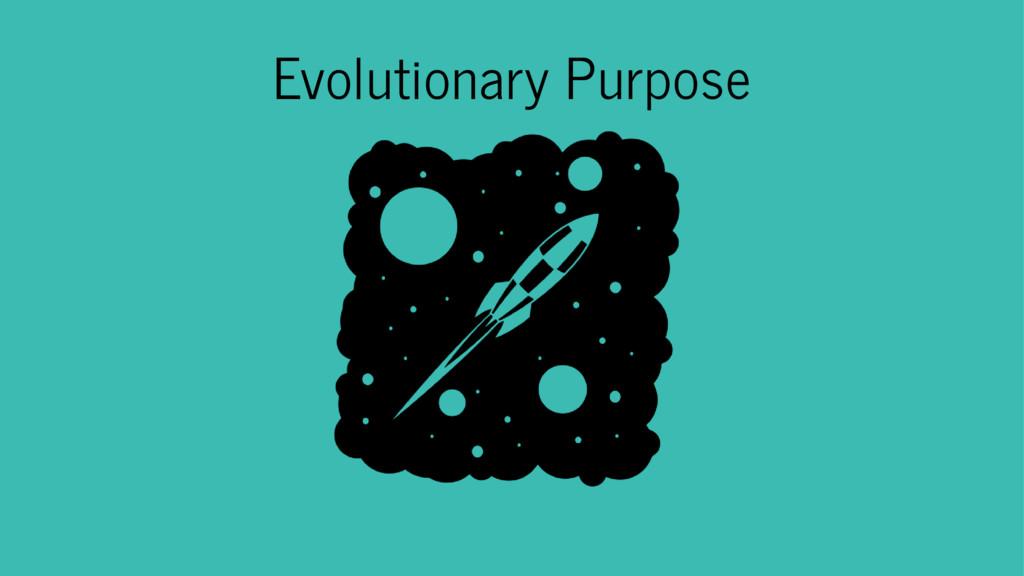 Evolutionary Purpose