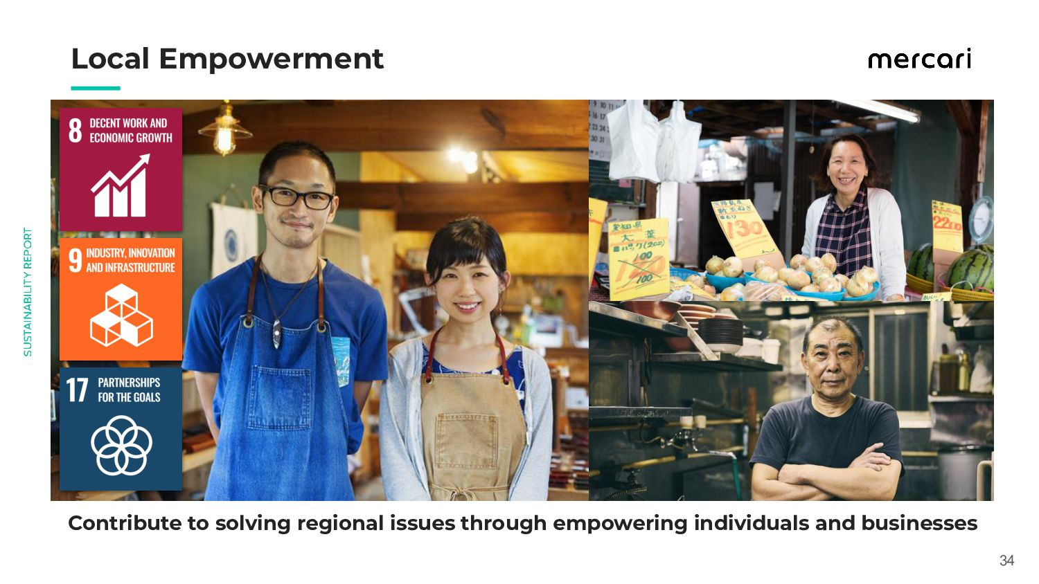 Local Empowerment 34 Contribute to solving r...