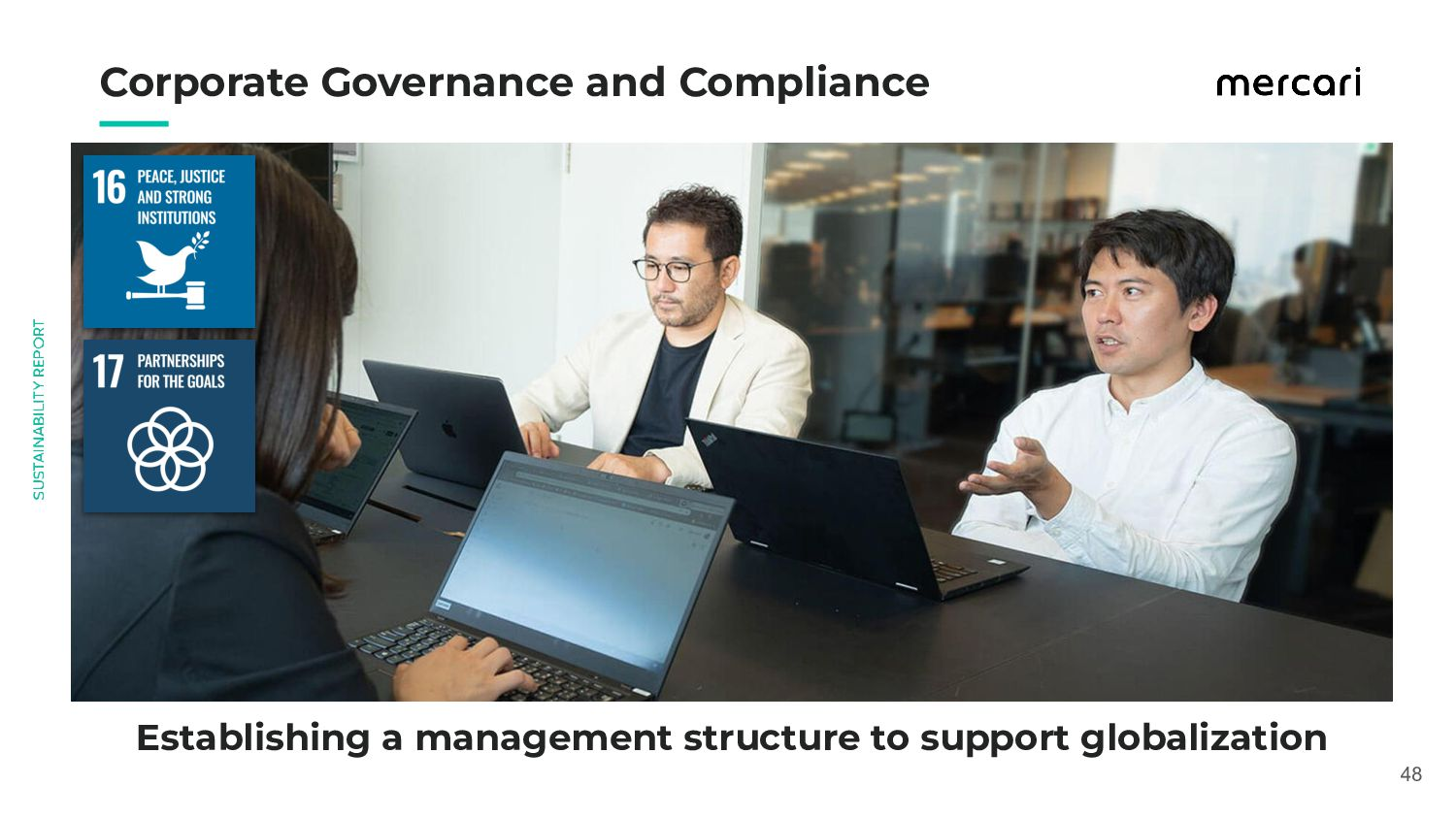 Establishing a management structure to suppo...