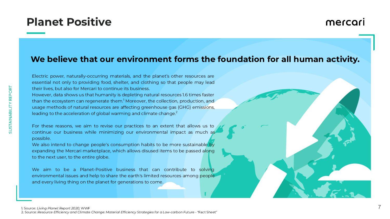 7 Planet Positive 1. Source: Living Planet R...