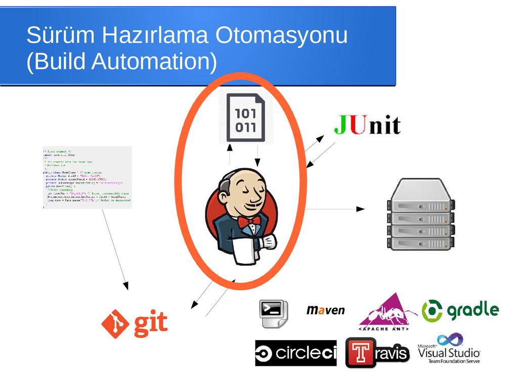 Sürüm Hazırlama Otomasyonu (Build Automation)