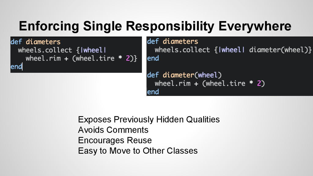 Enforcing Single Responsibility Everywhere Expo...