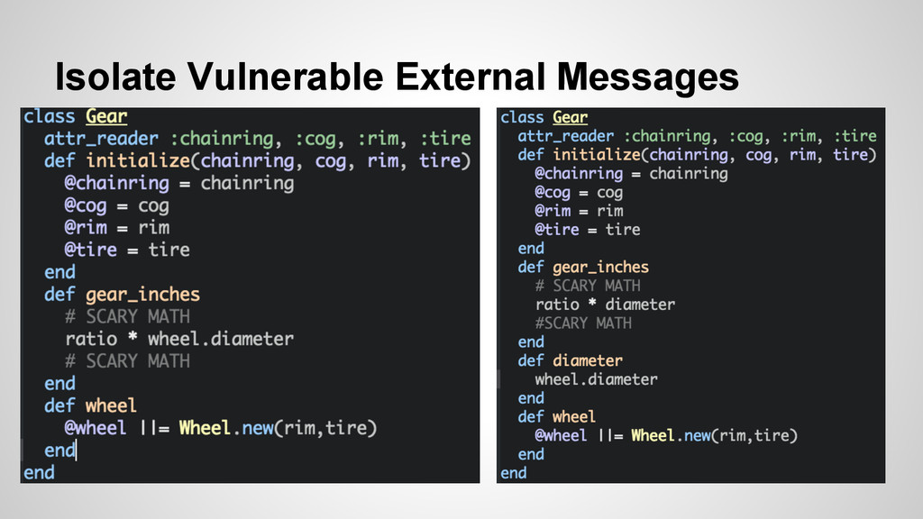 Isolate Vulnerable External Messages