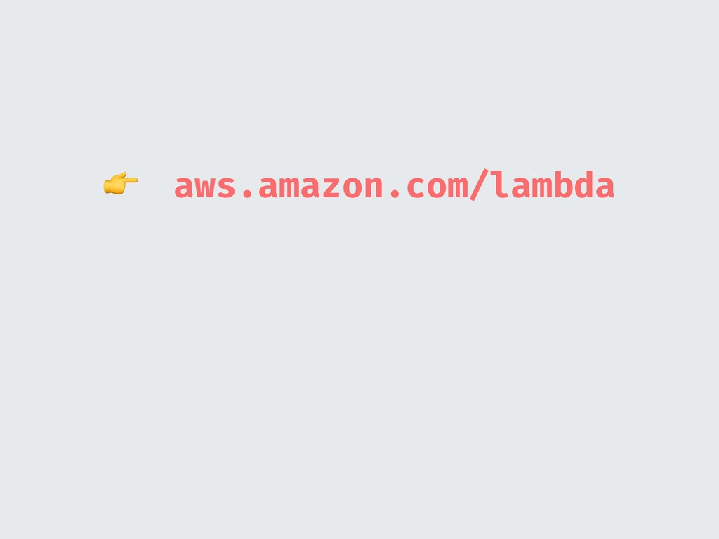 aws.amazon.com/lambda
