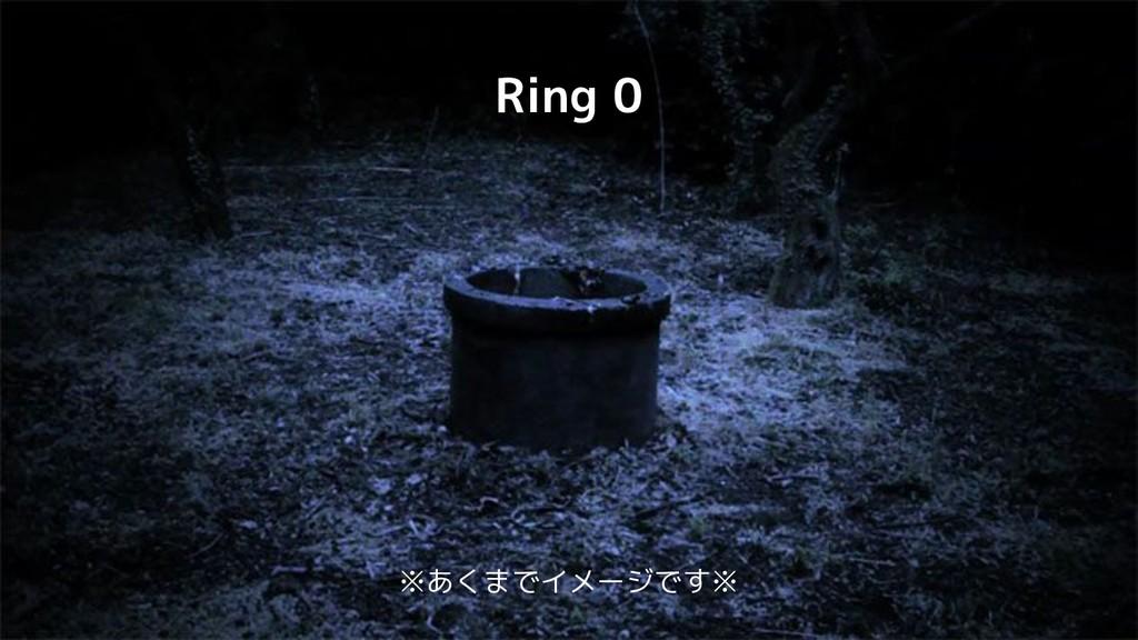 Ring 0 ※あくまでイメージです※