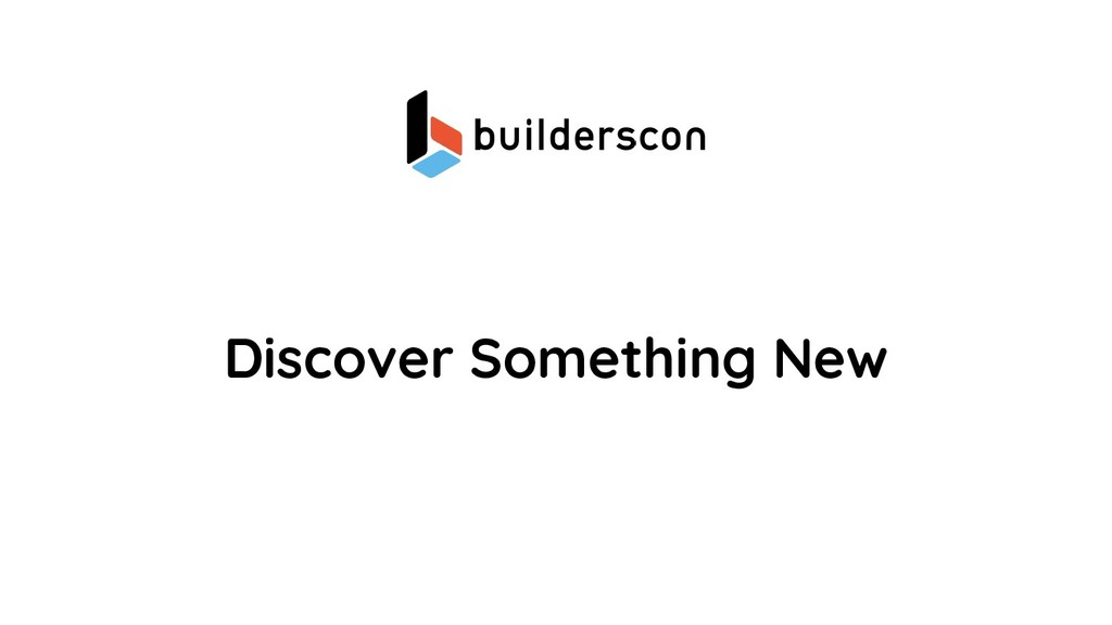 Discover Something New