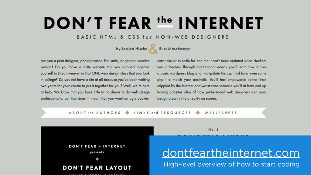 dontfeartheinternet.com High-level overview of ...