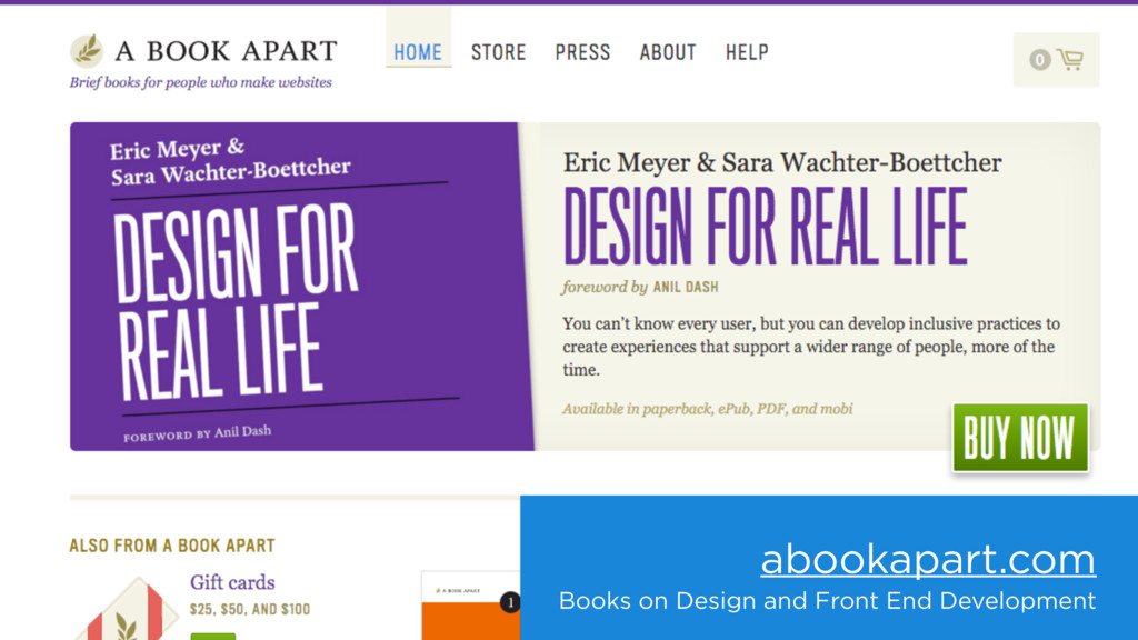 abookapart.com Books on Design and Front End De...