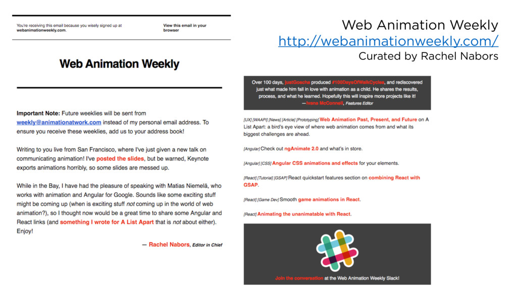 Web Animation Weekly http://webanimationweekly....