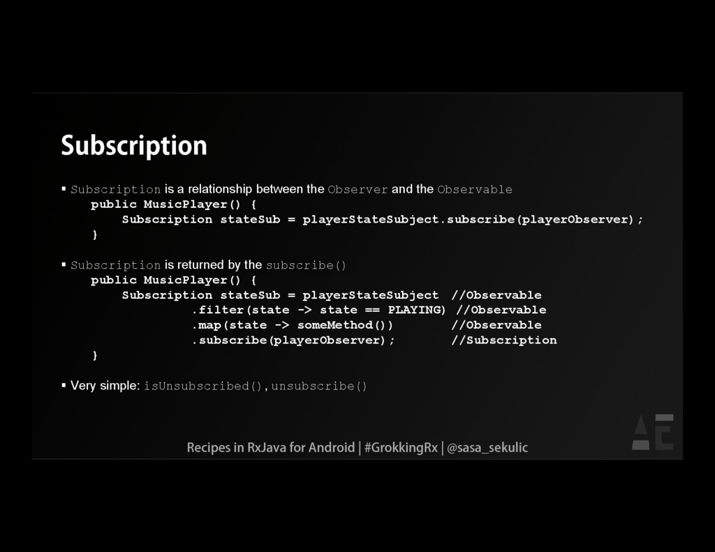 Subscription  Subscription is a relationship b...