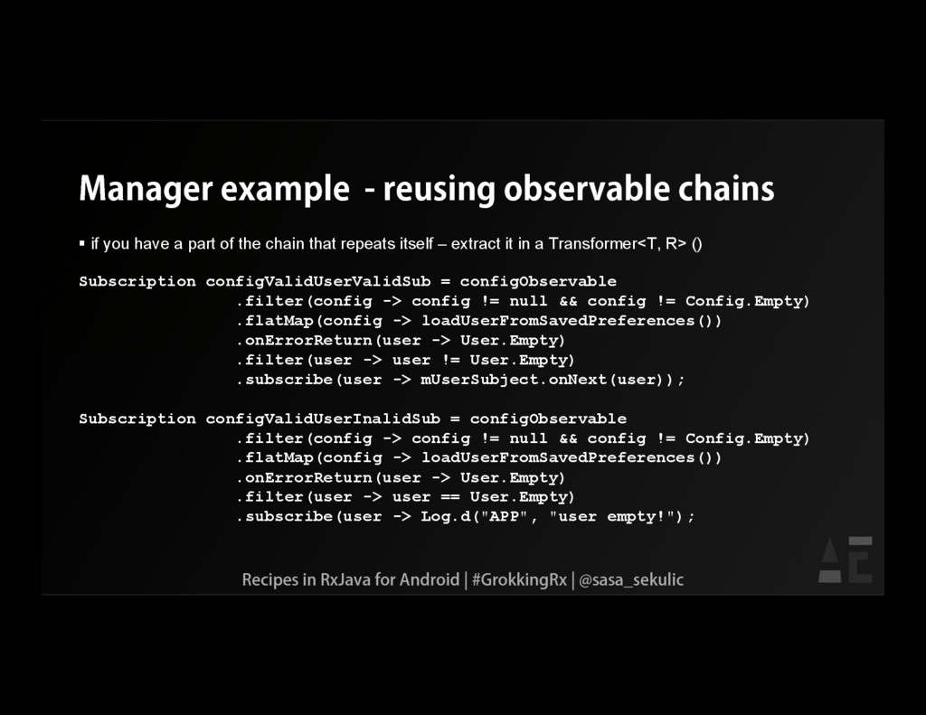 Manager example - reusing observable chains  i...