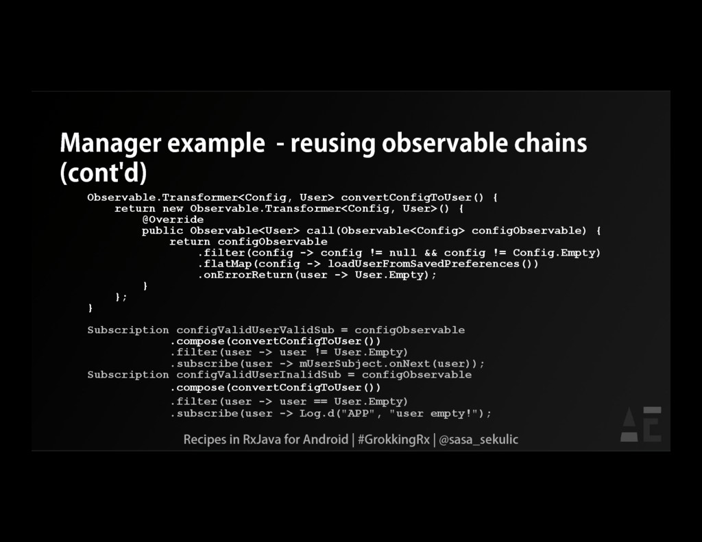 Manager example - reusing observable chains (co...