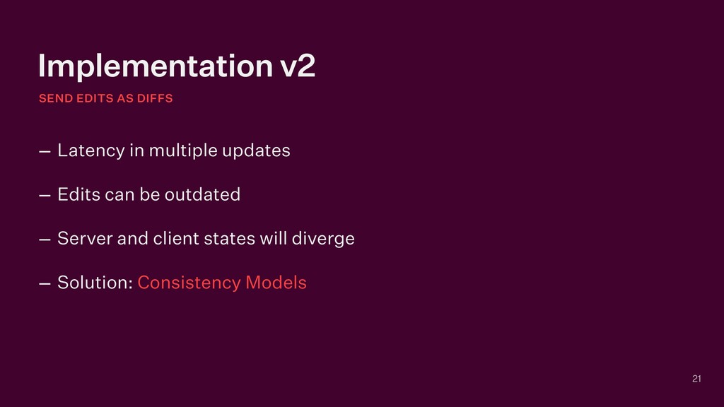Implementation v2 SEND EDITS AS DIFFS 21 – Late...