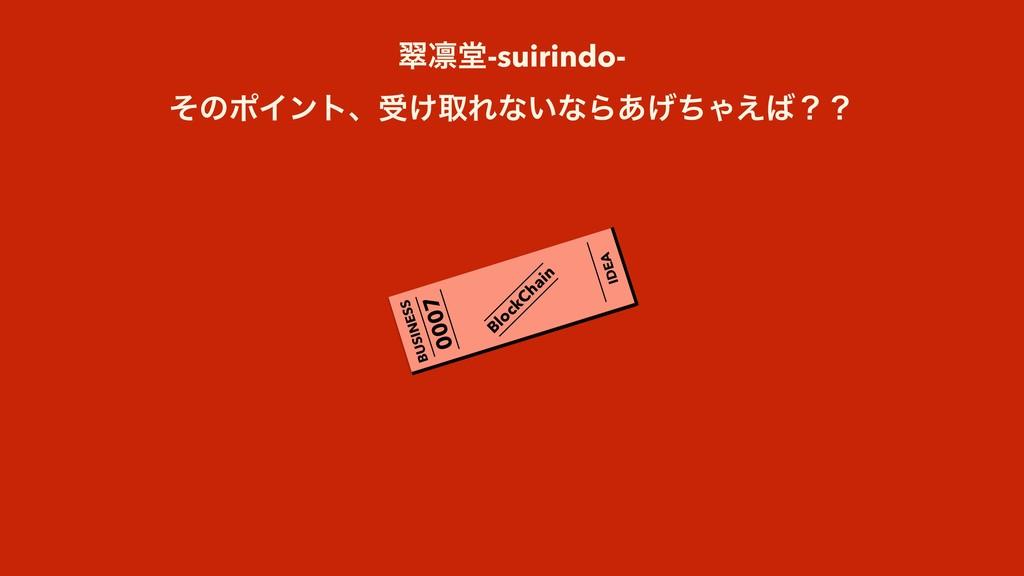 0007 BUSINESS IDEA BlockChain ਯ႒ಊ-suirindo- ͦͷϙ...