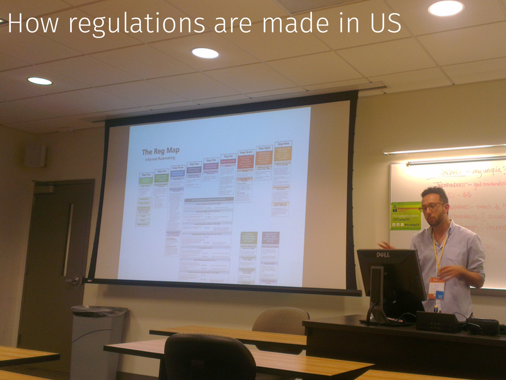 How regulations are made in US