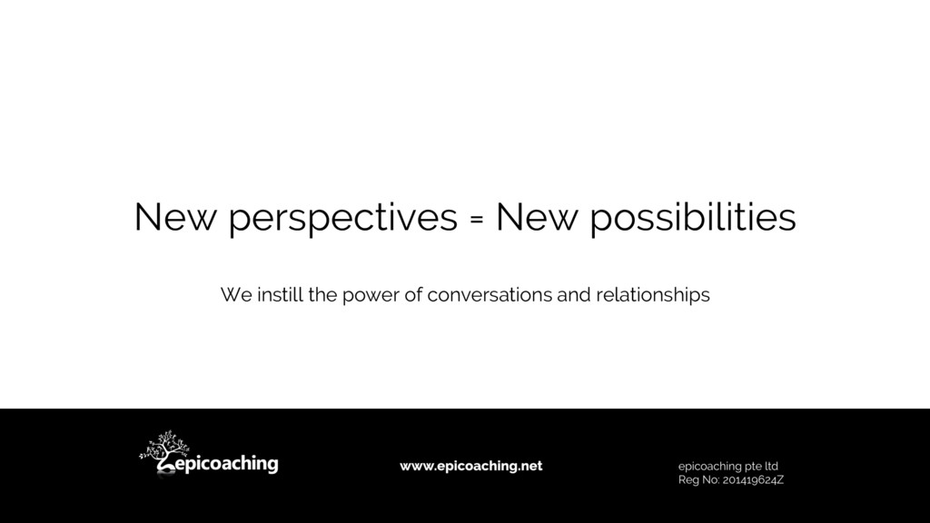 We instill the power of conversations and relat...