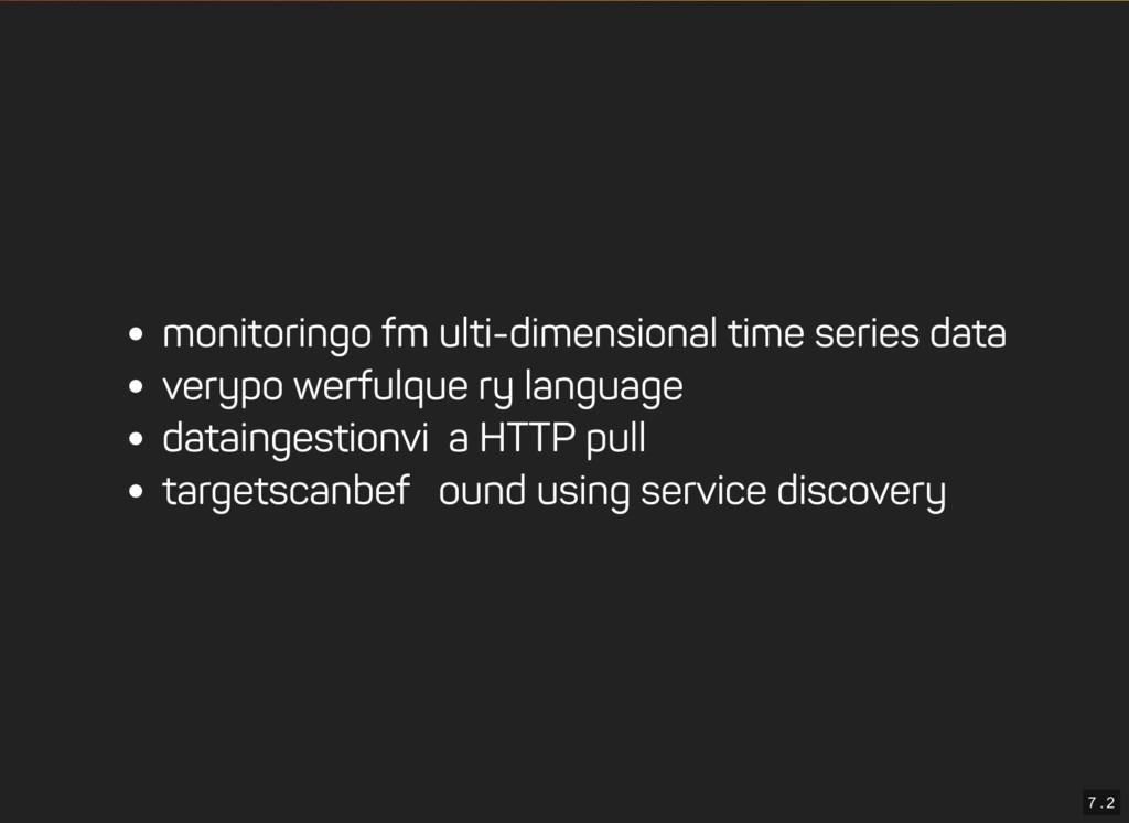 7 . 2 monitoring of multi-dimensional time seri...