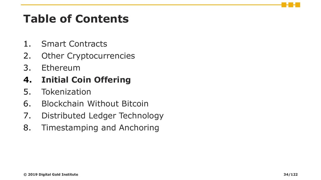 Table of Contents 1. Smart Contracts 2. Other C...