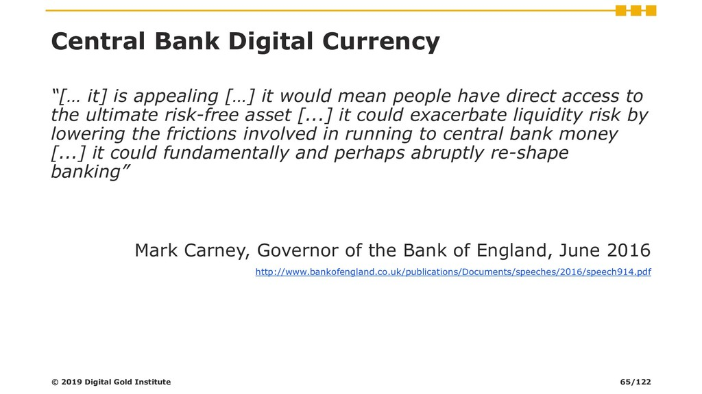"Central Bank Digital Currency ""[… it] is appeal..."
