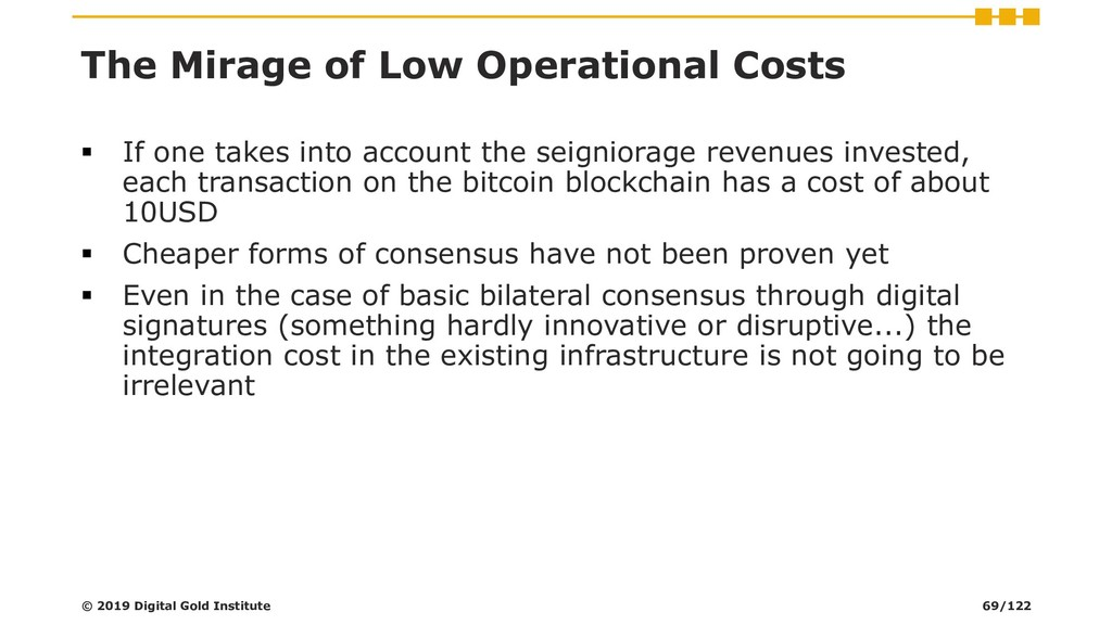The Mirage of Low Operational Costs ▪ If one ta...