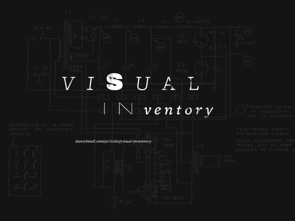 danielmall.com/articles/visual-inventory